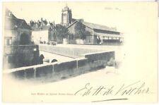 CPA 39 - DOLE - Les Halles et Eglise Notre-Dame - Dos non divisé