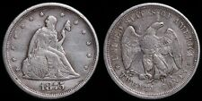 1875-S Seated Liberty 20 Cent - Nice Details!!!