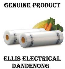 ☛☛ GENUINE Sunbeam Vacuum Heat Sealer, Food Saver Bags 2 x 20CM x 6.7M  VS0420