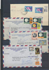 XC47878 Haiti 1963 to New York registered airmail covers used