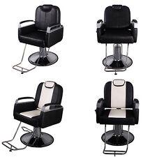 Barber Chair Salon Hydraulic Styling Hair Beauty Spa Shampoo Equipment Black