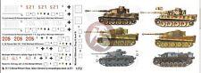 Peddinghaus 1/72 Michael Wittmann Panzer Ace WWII Tank Markings (6 tanks) 1112