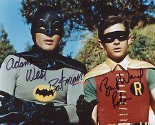 "Batman & Robin Adam West Burt Ward reprint signed 8x10"" Photo #2 Autographed RP"