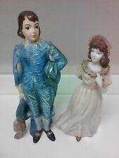 Vintage Blue Boy & Pinkie Holland Mold Ceramic Figures