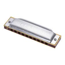 Suzuki 10-Hole Diatonic Harmonica Key of C 20 Tone for Beginner Student R1Y5