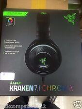 Razer Kraken 7.1 Chroma V2 Surround Sound USB Gaming Headset for PC Mac PS4