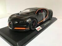 Maisto 2020 Bugatti Chiron Sport Special Edition Matte Black New Exclusive Style