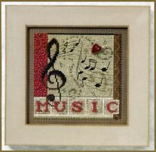 Melody Beaded Cross Stitch Kit Mill Hill 2011 Buttons & Beads Autumn