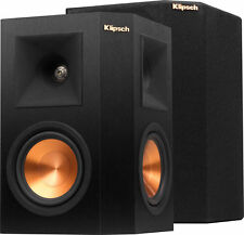PAIR KLIPSCH RP-250S RP-250 S SURROUND SPEAKERS EBONY BRAND NEW - WARRANTY