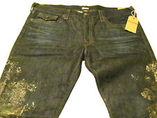 NWT True Religion Mens 44Wx33L Ricky Relax-Straight Soiled Jeans M24859NLJ3 $299