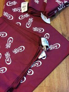 "New Case XX Burgundy Bandana 20 3/4""× 21 3/4"" advertising, apparel, clothing"
