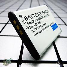 100% Brand New DB-100/DB100 Battery for RICOH CX3/CX4/CX5/CX6/PX