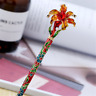 Vintage Women Girl Flower Hair stick Hair Accessories Hair Pin Clasp Sticks Red