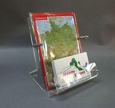 Postkartenständer DIN A6 mit Visitenkartenständer  , Postkarte,Display
