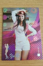 SNSD Girls Generation Yuri Star Official Collection S2 Check Holo Rare GG2-051