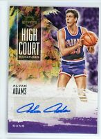 2019-20 Alvan Adams 177/179 Auto Panini Court Kings Autographs High Court
