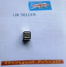 Double USB 2.0 Type A DIP 8-Pin Female Jack Socket Connector UK