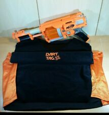 NERF Dart Tag Shooter - Fury Fire- Orange with Dart Tag T Shirt