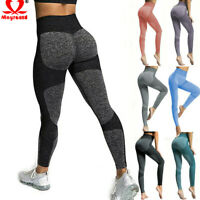 Women Yoga Sports Leggings Gym Jogging Fitness Pants High Waist Stretch Trousers