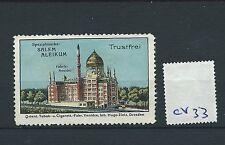 wbc. - CINDERELLA/POSTER - CV33- EUROPE - SALEM ALEIKUM, TRUSTFREI - DRESDEN
