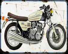 Benelli 750 Sei 73 3 A4 Metal Sign Motorbike Vintage Aged