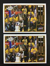 Lebron James 2 Sticker Game 7 NBA Panini Finals 2016 2017 (16-17) 418 European