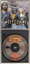 WOLFSBANE: LIVE FAST, DIE FAST CD PROMO BLAZE BAYLEY IRON MAIDEN OUT OF PRINT