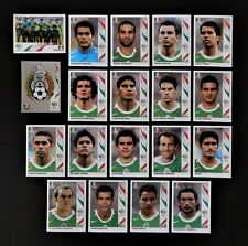 Panini FIFA World Cup Germany 2006 Complete Team Mexico + Foil Badge
