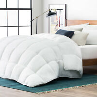 Ultra Soft and Cozy White Down Alternative Comforter - Twin Full Queen and King