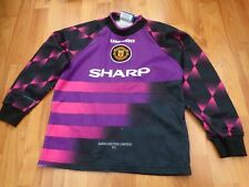 MANCHESTER UNITED MAN UTD VINTAGE 1996-1997 96-97 UMBRO GK 9-10 YEARS BOYS SHIRT