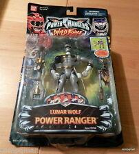 POWER RANGERS WILD FORCE LUNAR WOLF  & Accessories 2002