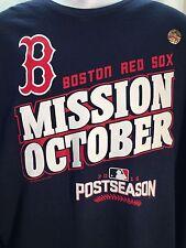Boston Red Sox Mission October 2016 Postseason T-Shirt XXL NWT Pedroia Big Papi