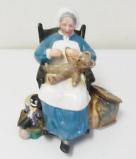 Vintage 1957 Royal Doulton Nanny Hn2221 Porcelain Figurine ~ Free Shipping