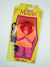 Mattel Disney's Mulan Far East Fashion Doll Accessary Outfit Ref. 67931 - NEW