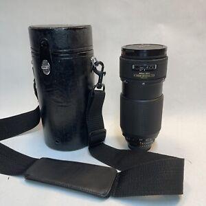 Nikon ED AF Nikkor 80-200mm 1:2.8 Lens W/ Case Tiffen 77mm Filter - Japan