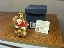 Mint In Box W/Card Harmony Kingdom Angeltique Joyeaux Figure Figurine
