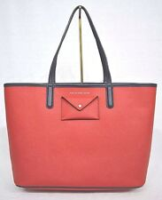 NWT! Marc Jacobs  M0005327 Metropolitote Colorblocked Tote 48 in Rosey Red