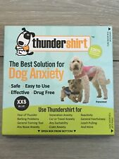 Thunder Shirt Dog Anxiety Vest XXS Blue