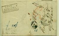Vorphila, Kaiserslautern  nach Holfertsweiler 13.04.1853 Eing. 16.04. Ausgabe 2