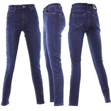 Damen Jeans Hose Winterhose Thermohose Winterjeans Fleece Gefüttert W30-38 Blau5