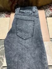 Criminal Damage Black Gray Super Skinny Jeans Size 28 Regular Length Barely Worn
