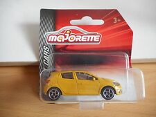 Majorette Renault Clio SPort in Yellow on Blister