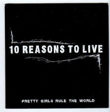 (FA553) 10 Reasons To Live, Pretty Girls Rule The World - DJ CD