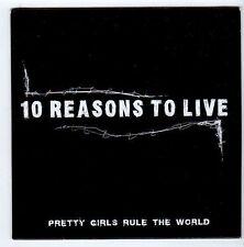 (FA553) 10 Reasons To Live, Pretty Girls Rule The World - DJ CD