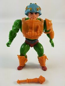 Man At Arms He-Man and Masters of the Universe MOTU Figure Mattel Soft Head