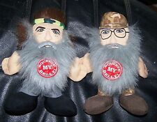 DUCK DYNASTY DOLLS PHIL AND SI  TALKING DOLLS