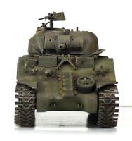 Verlinden Built 1:35 WWII USMC Marines M4A2 Sherman Original Display #VPBM4A2