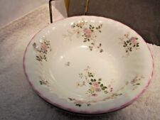 TWO ST MICHAEL CHINA SOUP / DESSERT BOWLS  IN MELROSE PATTERN  A FLORAL PATTERN