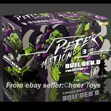 Jinbao Devastator Decepticons Oversized Toy Mixmaster Shovel Car B packaging