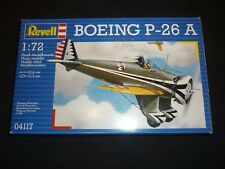 A Revell un made plastic kit of a Boeing P- 26a.  Boxed